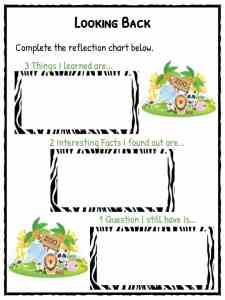 Zoo Facts & Worksheets For Kids