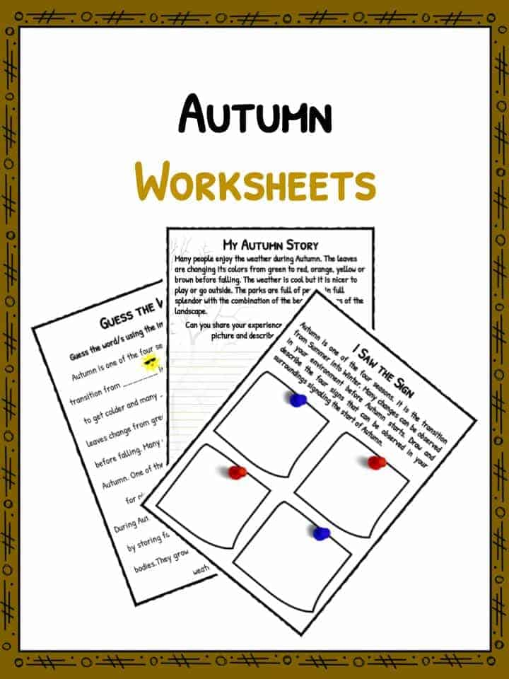 Autumn Facts Amp Information Worksheets