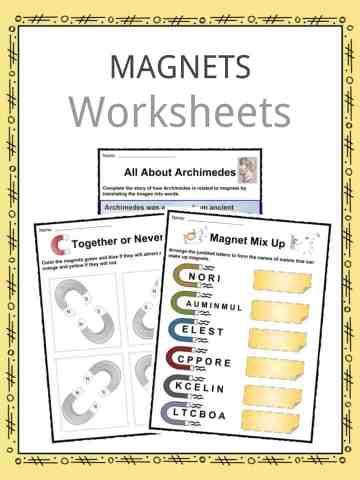 Magnets Worksheets
