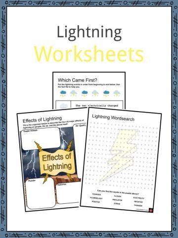 Lightning Worksheets