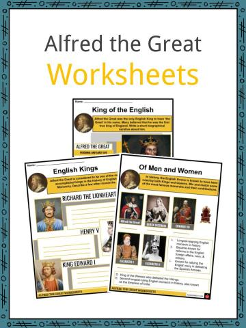 Alfred the Great Worksheets