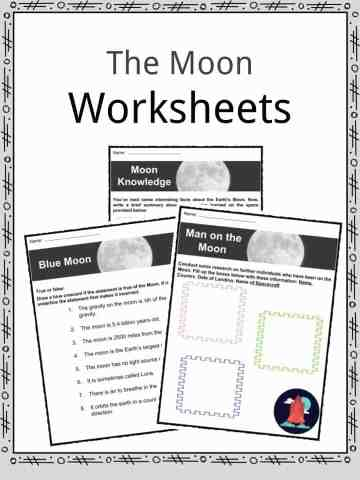 Moon Worksheets