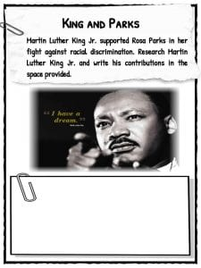 martin luther king steckbrief # 42