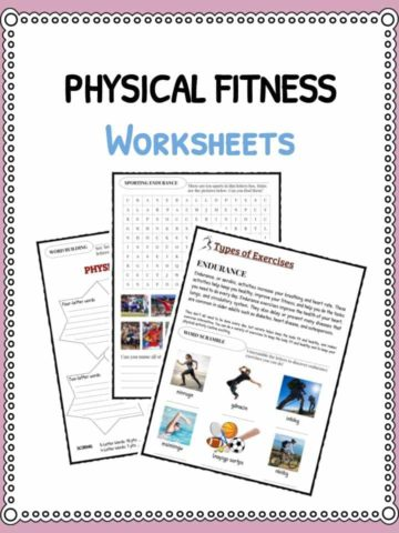 Health Worksheets And Activities For Kids