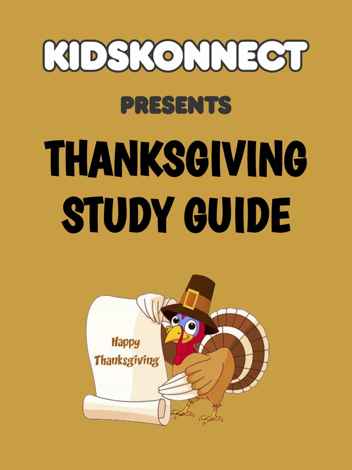 Thanksgiving Study Guide For Kids