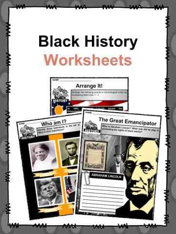 Black History Worksheets