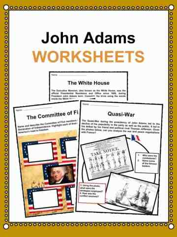 John Adams Worksheets