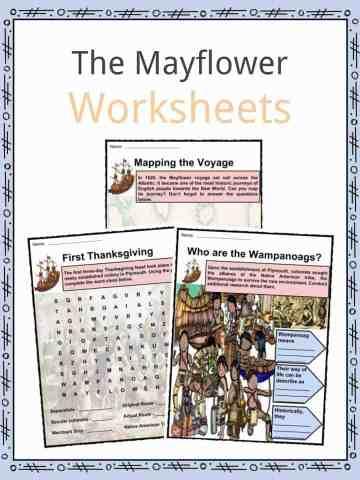 The Mayflower Worksheets