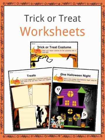 Trick or Treat Worksheets