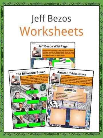 Jeff Bezos Worksheets