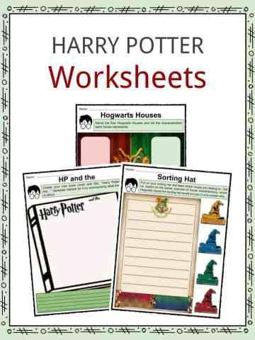 Harry Potter Worksheets