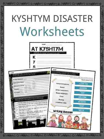 KYSHTYM DISASTER Worksheets