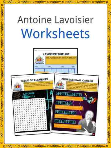 Antoine Lavoisier Worksheets