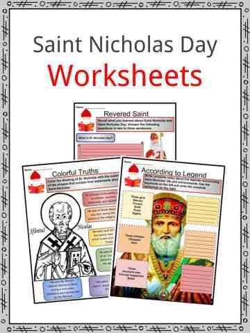 Saint Nicholas Day Worksheets