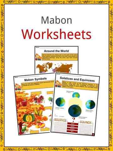 Mabon Worksheets