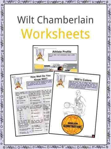 Wilt Chamberlain Worksheets