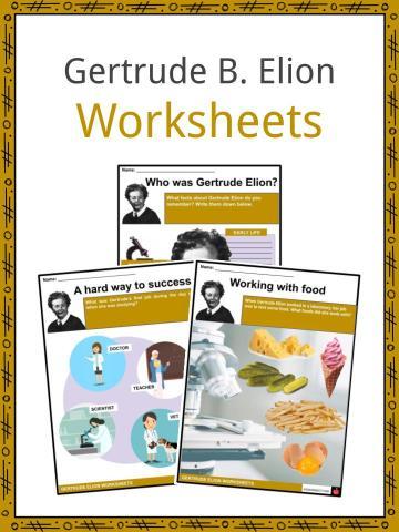 Gertrude B. Elion Worksheets