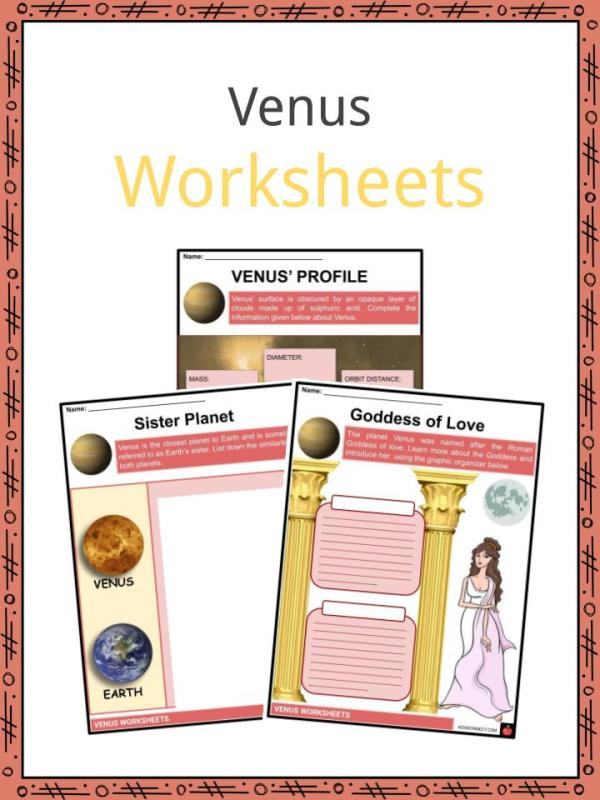Venus Facts, Worksheets, Planet Profile & Discovery of ...