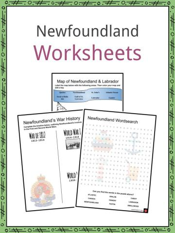 Newfoundland Worksheets