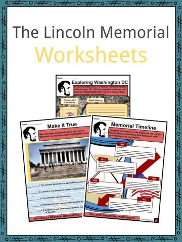 The Lincoln Memorial Worksheets