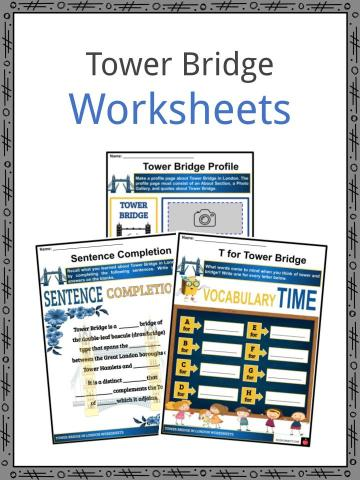 Tower Bridge Worksheets