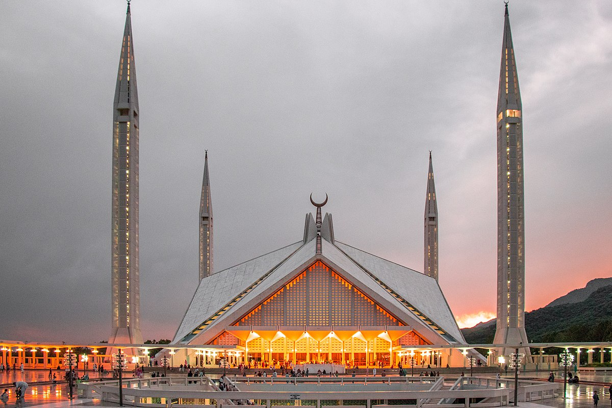 Faisal Mosque Facts Worksheets Amp Description For Kids