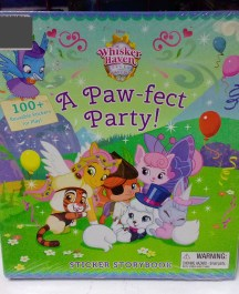 A Paw-fect Party Sticker Book Activity