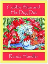 "Alt=""cubbie blue and his dog dot by randa handler"""