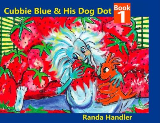 Cubbie Blue and his Dog Dot by Randa Handler