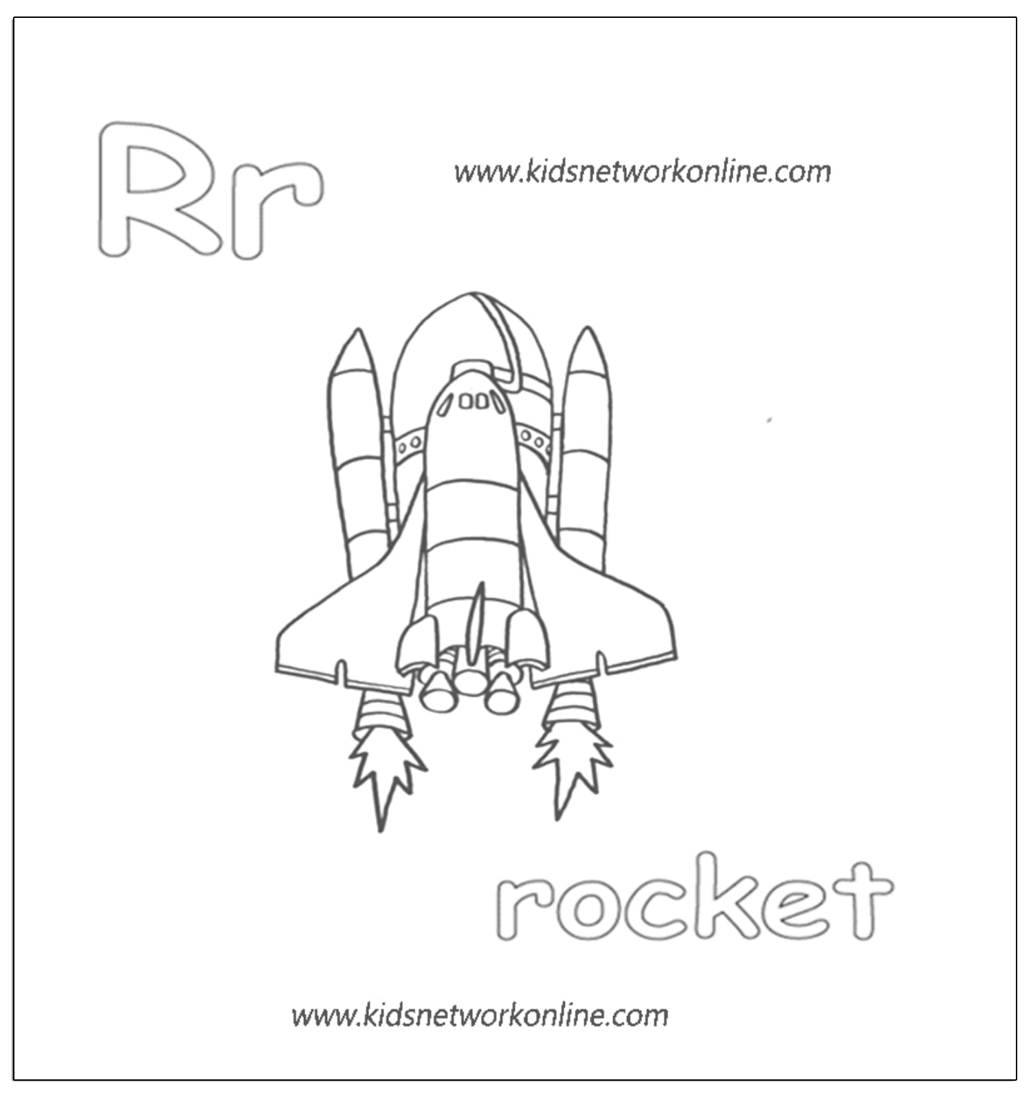 Aphabets Coloring Worksheets