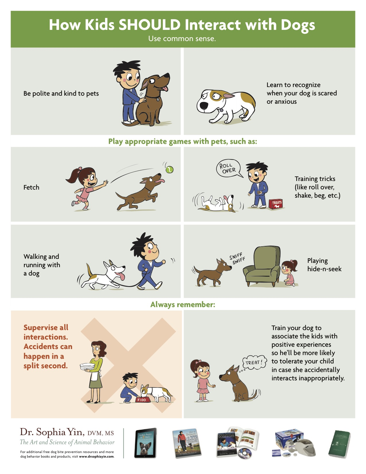 Why Teaching Your Kids How To Greet A Dog Is So