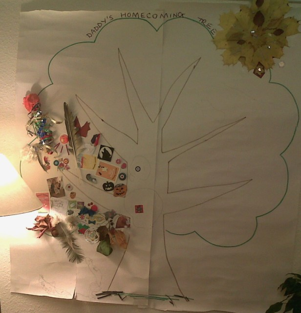 homecoming-tree-tree-outline-drawn-on-wallpaper-with-items-stuck-on