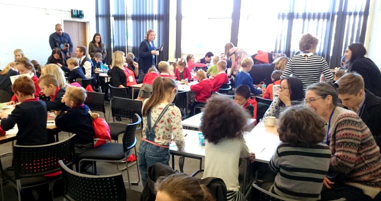 Image of children sitting at desks-in-classroom