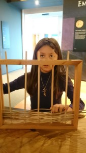 Image of girl-doing-willow-weaving