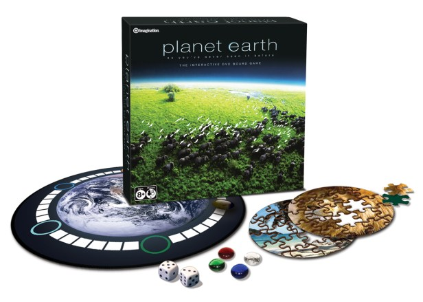 planet earth DVD game