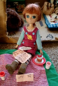 Image of stargazing-lottie-with-english-country-garden-picnic-accessories