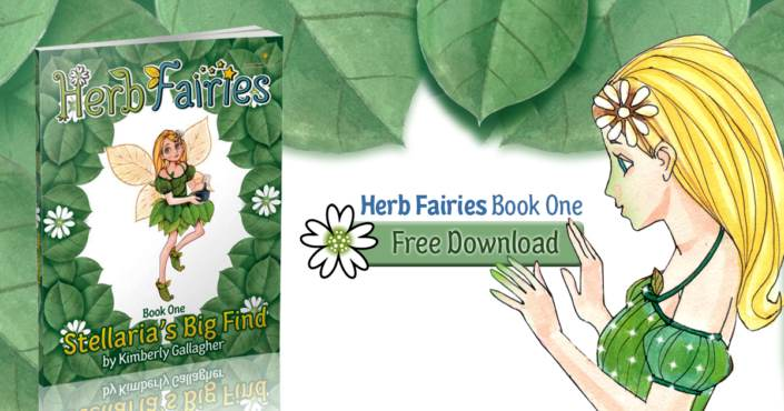 Teach Children about Healing Plants with Herb Fairies Free Book Offer