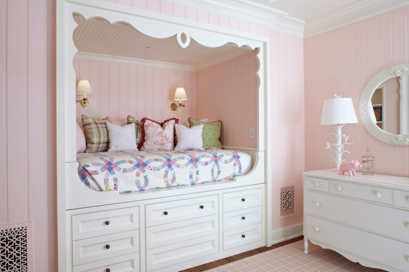 33 Space-Saving Built-In Kids Beds Ideas