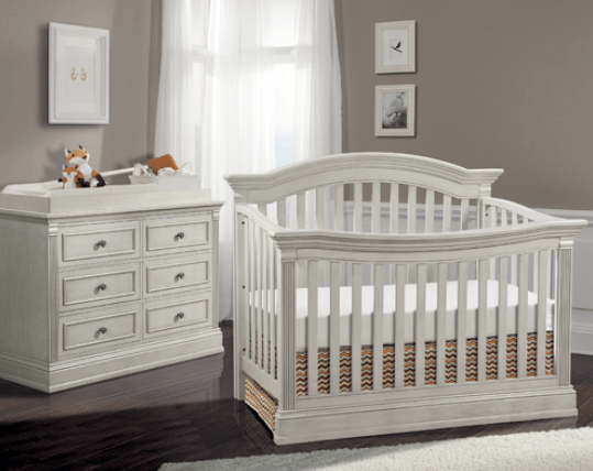 Templeton 4 In 1 Convertible Crib In Off White Kids