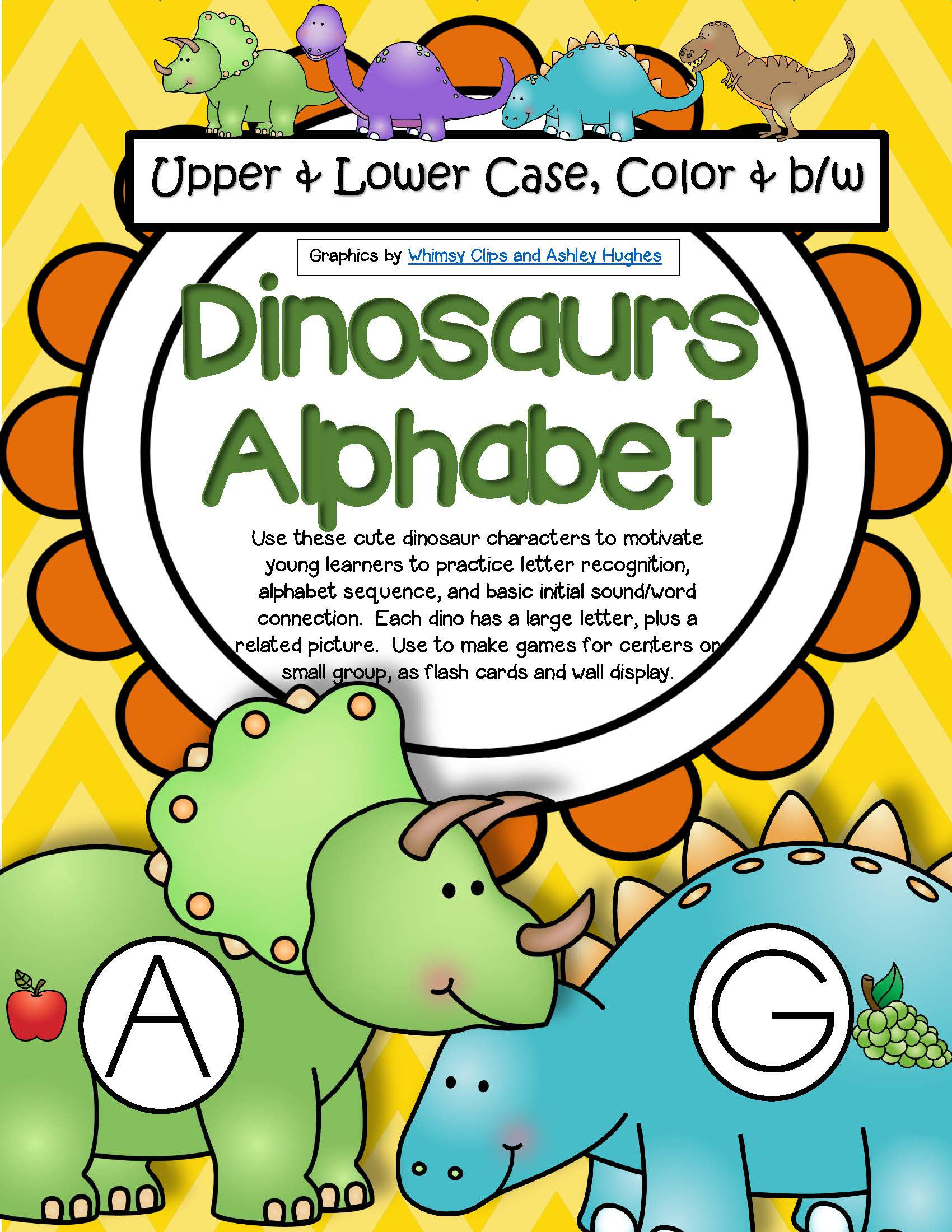 Dinosaurs Alphabet