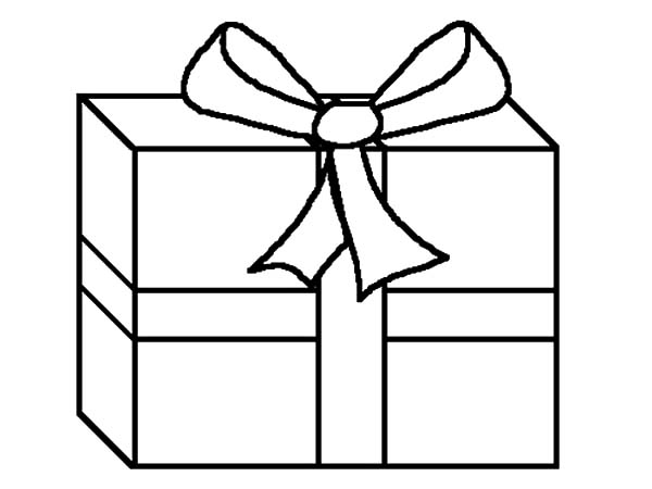 christmas present coloring pages # 69