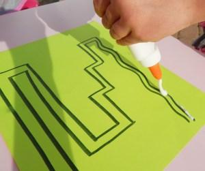 glue lines