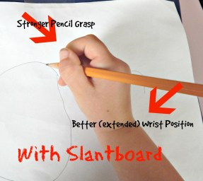 with slantboard