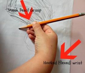hooked wrist