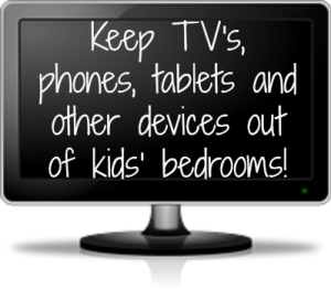 keep out of kids rooms