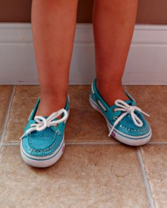 shoe close up