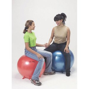 therapy sitting ball action