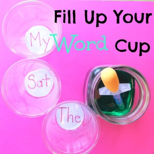 Fill Up Your Word Cup