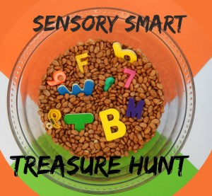 Sensory Smart Treasure Hunt!