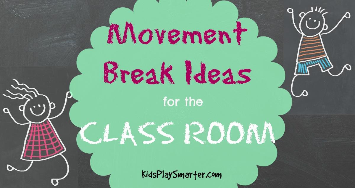 Movement Break Ideas for the Classroom